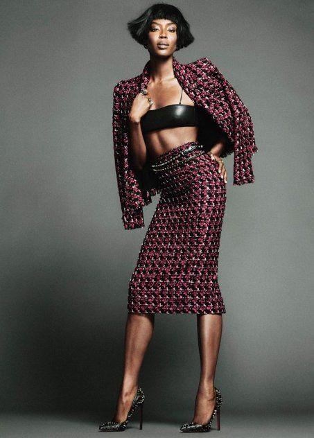 Naomi Campbell, The Edit, Nico, Black Fashion Models