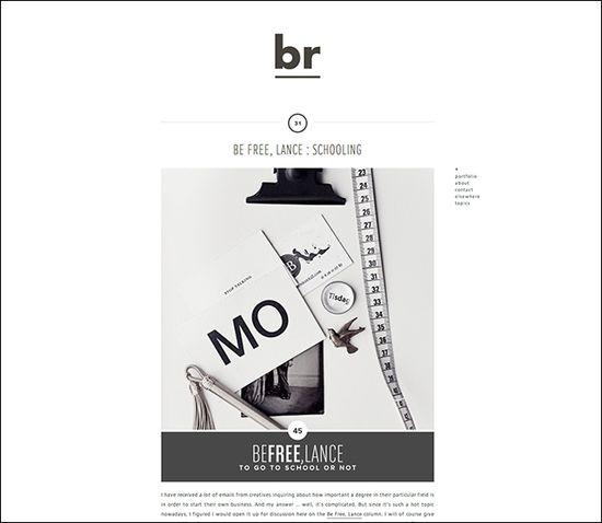 Inspiring Graphic Design Blogs: Breanna Rose