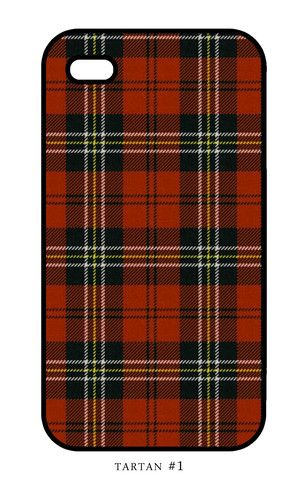 Tartan i-phone cover. Style #1 – The Fuller Collection