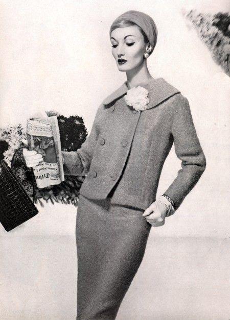 Evelyn Tripp, Vogue, Février 1959