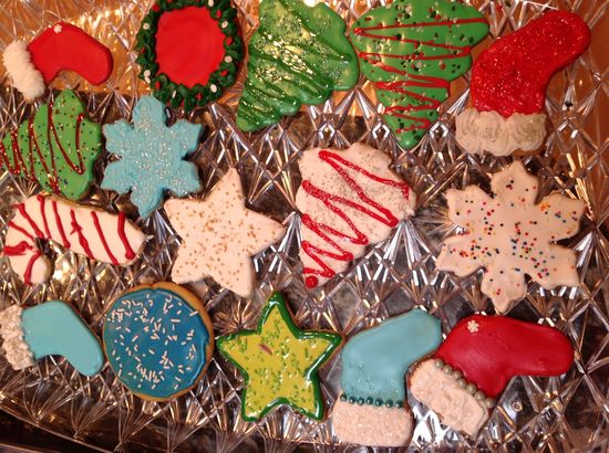 2012 Decorated Cookies