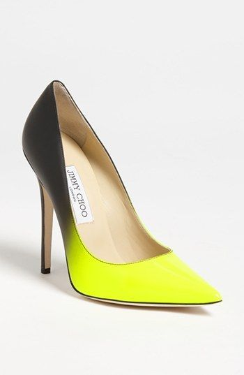Jimmy Choo neon