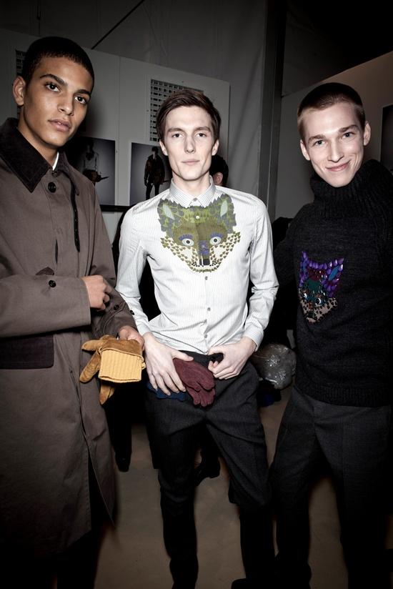 The Burberry Prorsum Menswear Autumn/Winter 2012 Show