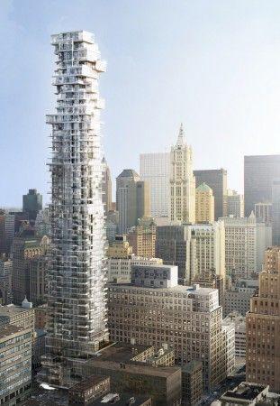 56 Leonard Street / Herzog & de Meuron #NYC