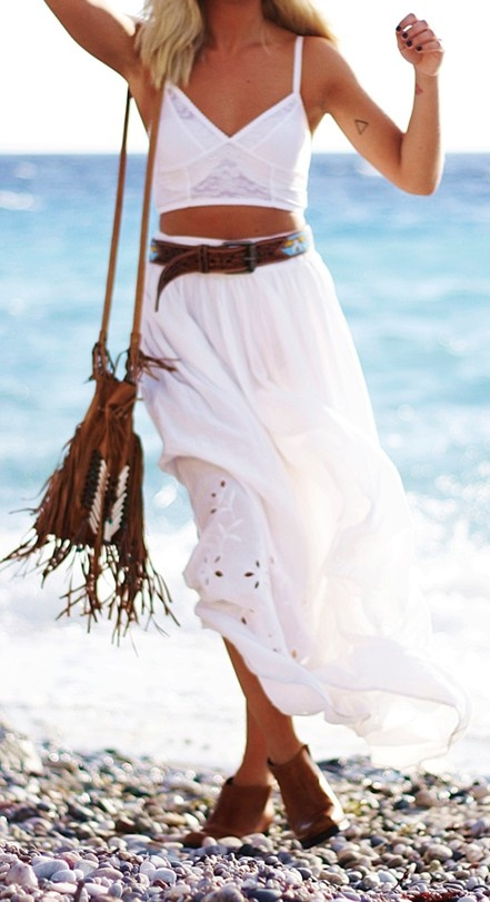 Beach bohemian