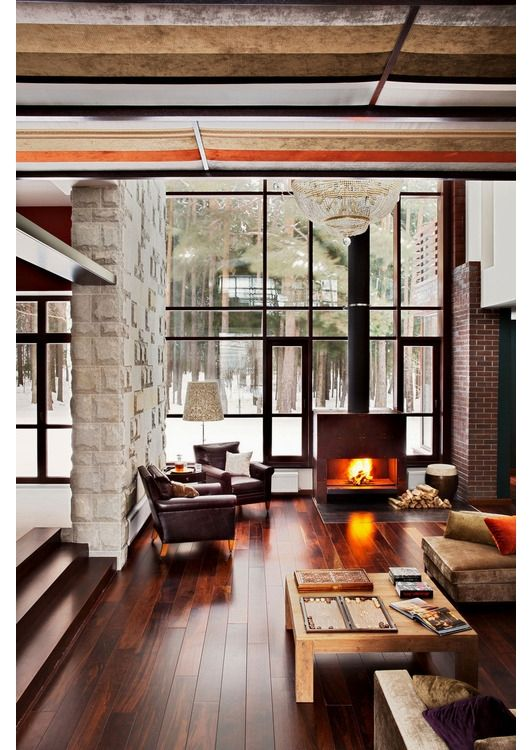 fireplace design - Home and Garden Design Idea's