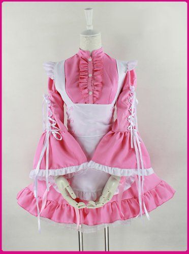 Sexy Pink French Maid Party Outfit Halloween « Clothing Impulse