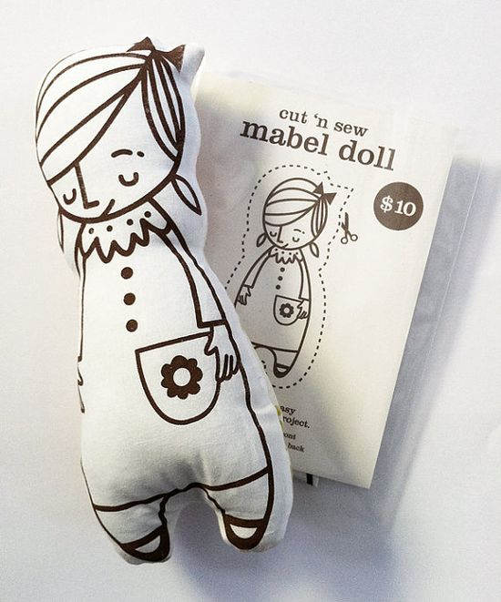 Doll Cut 'n Sew Kit