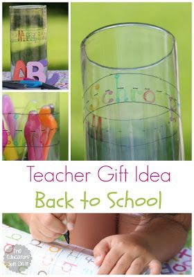 Teacher Gift Idea for Back to School plus free printable  with Infinity Markers