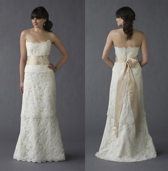 Caroline DeVillo Jane gown #wedding