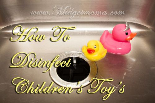 HOw to clean children's toys