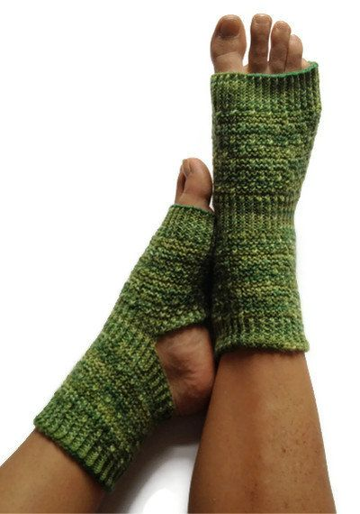MADE TO ORDER Yoga Socks Hand Knit in Shades of by MadebyMegShop, $35.00