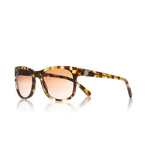 Tory Burch classic tortoise sunglasses