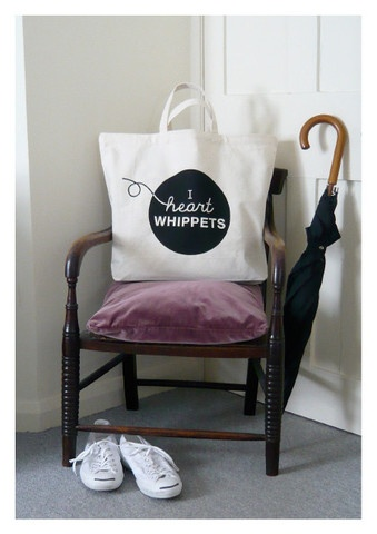 Lovely tote from iheartwhippets.co.uk  All funds raised go towards rescued whippets!!!