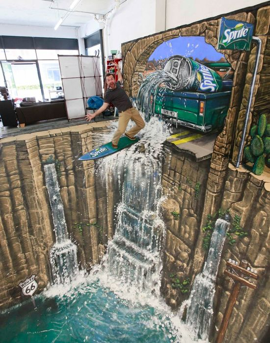 Amazing 3D Art by Joe Hill