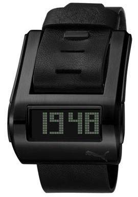 Puma Stream Black Digital Men's Watch