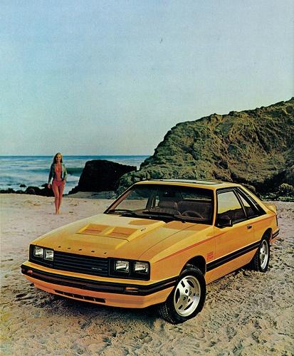 1980 Mercury Capri RS.