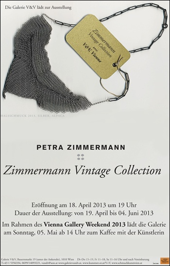 Petra Zimmermann Vintage Collection - 19avril-4juin