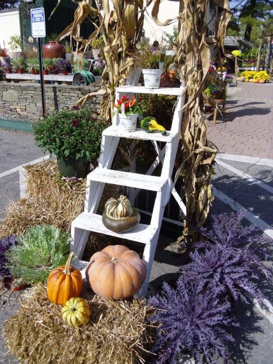 Garden Decoration - Impressive Autumn Garden Decor Ideas