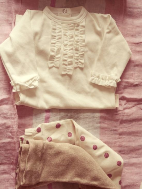 Baby Girl Essentials  Ruffle Onesie www.bestofthislif...