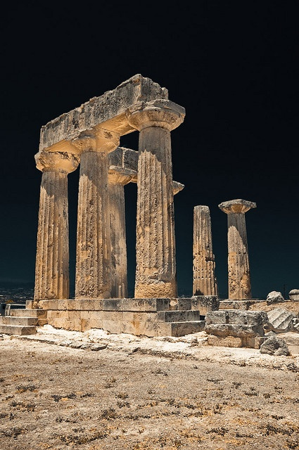 Temple of Apollo, Greece - by Pinox67