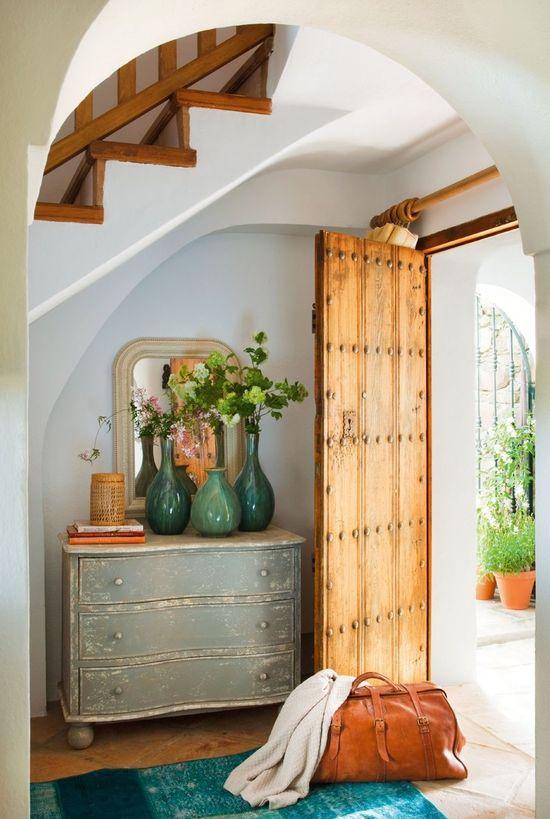 elorablue:  Home Located In Gaucin Spain