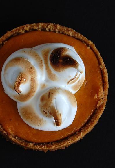 Honey Pumpkin Tart.