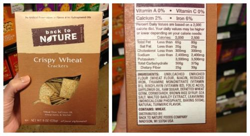 Misleading products and how to read ingredient labels on 100 Days of Real Food