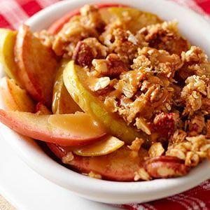 Caramel Crunch Apple Crisp