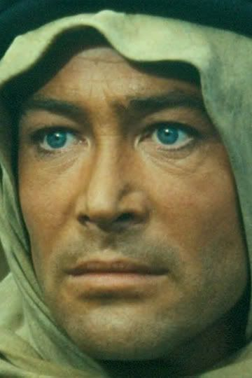Peter O'Toole as Laurence of Arabia