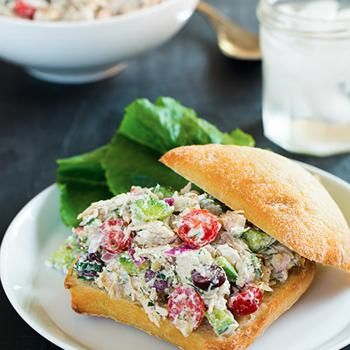 Greek Chicken Salad Sandwiches Recipe - Cooking Classy