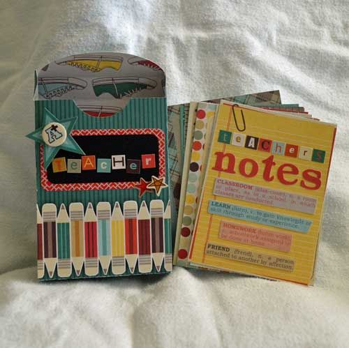 A+ Teacher Gift - Scrapbook.com