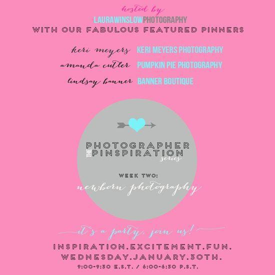 Photographer Pinspiration Series Week Three Newborn Photography #photoginspiration