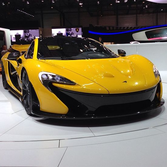 McLaren P1 - the car of 2013