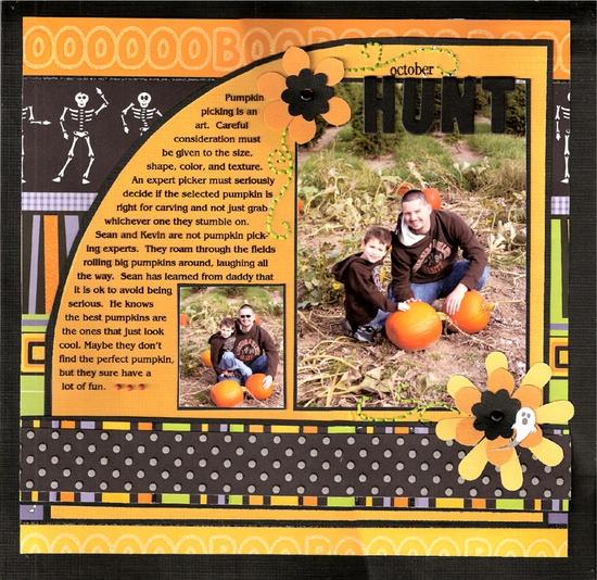 October Hunt...cute