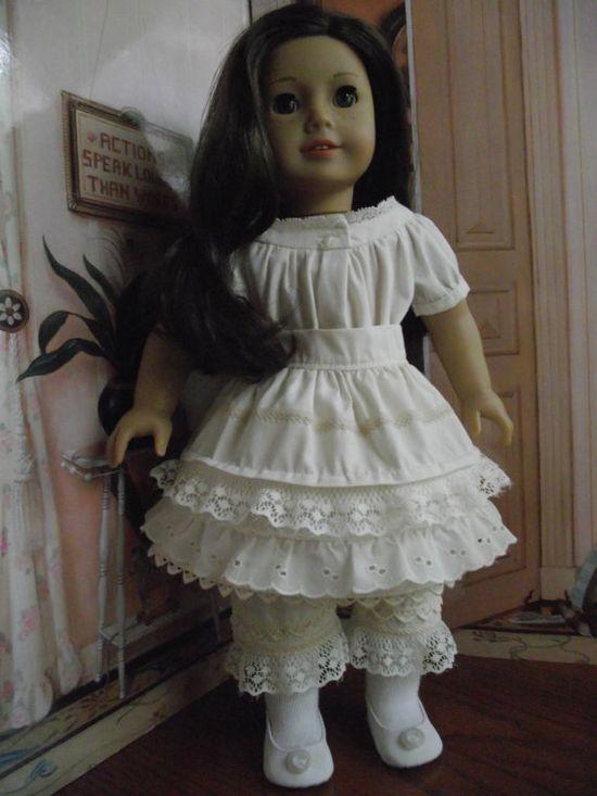 American Girl 1850's Undergarments Set  by VintiqueDesigns, $55.00