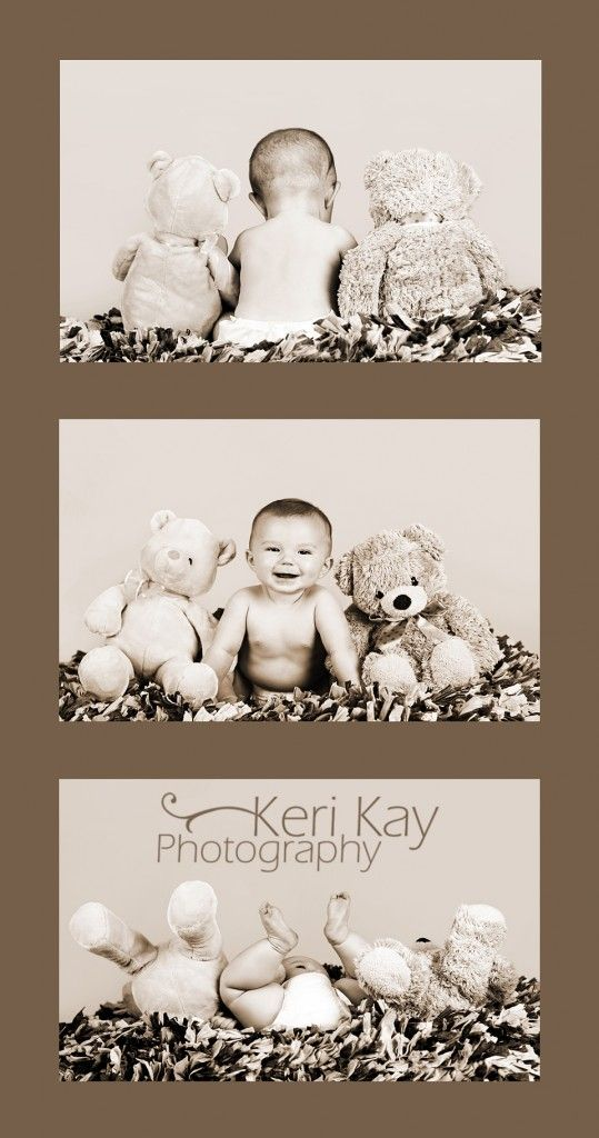 Idea to take baby pictures! cutest thing ever!