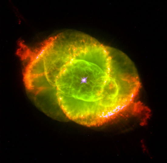 The Cat's Eye Nebula--Hubble Image
