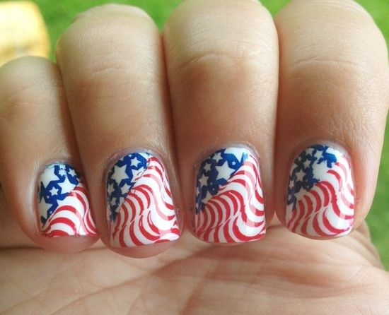 Fourth of July Nails!!!?