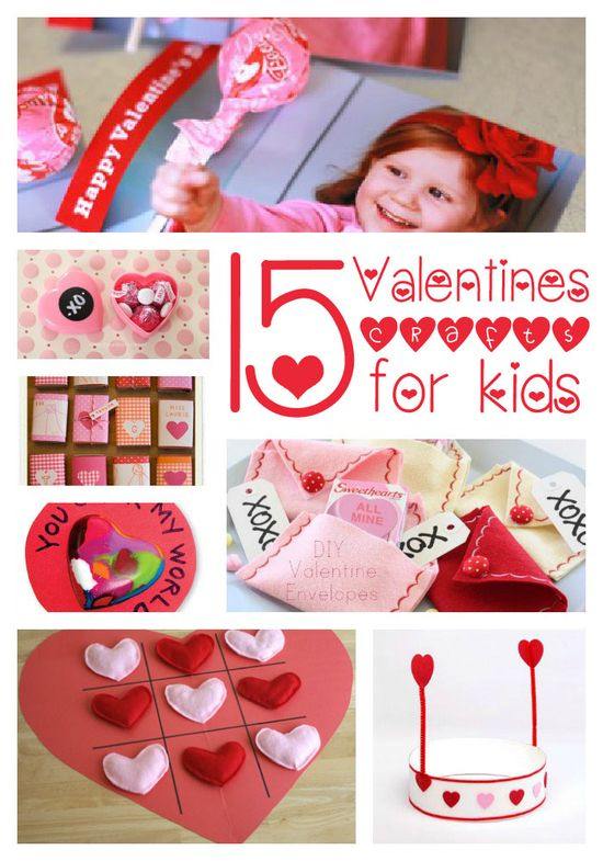 15 #Valentines crafts for kids on iheartnaptime.net