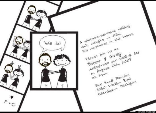 Gay Wedding Invites: The Cutest Same-Sex Invites