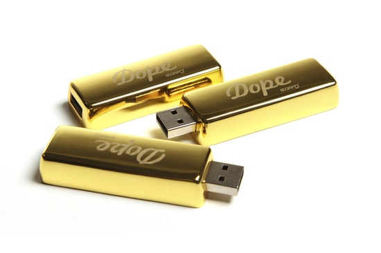 Stampd' LA Dope The Gold Bar - 4 gigs of solid gold storage - Edition of 50