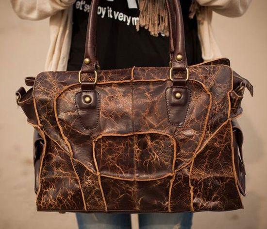 Handmade Leather Handbag ?