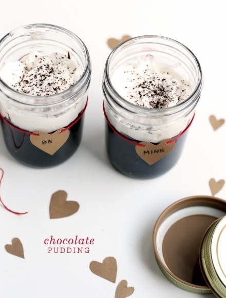 Chocolate Pudding forTwo