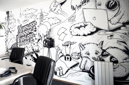 Office wall www.officedesigng...