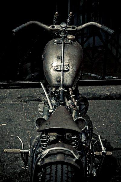Tank motorcycle