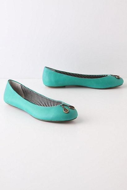 Trinket Flatts / Pilcro's #shoes