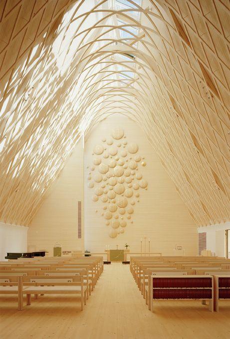 Kuokkala Church    Architects: Lassila Hirvilammi Architects  Location: Jyväskyla, Finland