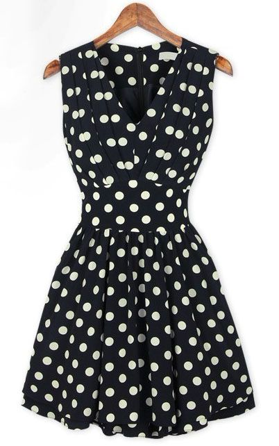 Polka Dot Dress ?