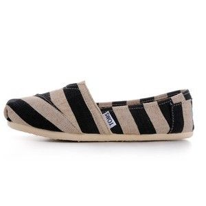 Buy Toms Shoes Kenya Stripes Linen Women's Classics Shoes Online from Toms Shoes Outlet